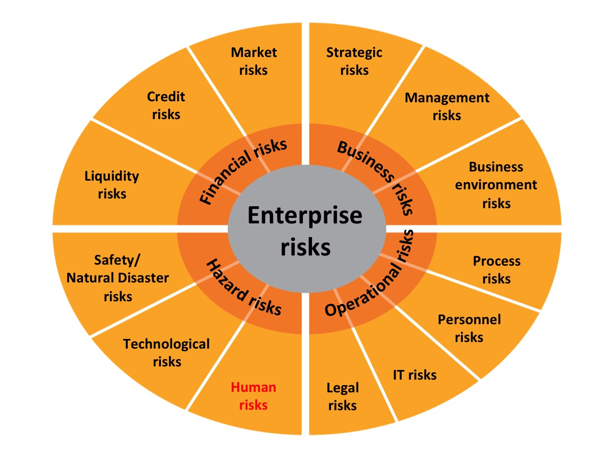 Enterprise Risk Chart by Business Protection Specialists