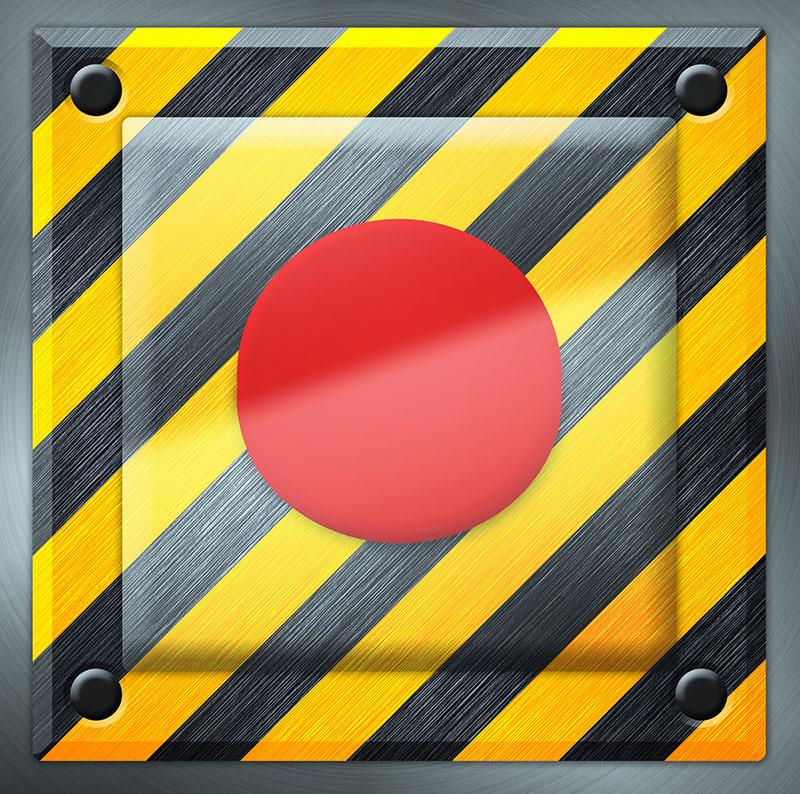 Red Panic Alarm